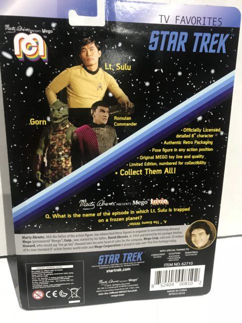 SDCC18: First Wave Of 2018 Star Trek Mego Figures Revealed